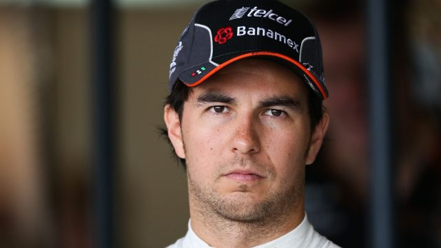 Sergio Perez (MEX) Force India at Formula One World Championship, Rd16, United States  Grand Prix, Practice, Austin, Texas, USA, Friday 23 October 2015. &copy&#x3b; Sutton Motorsport Images