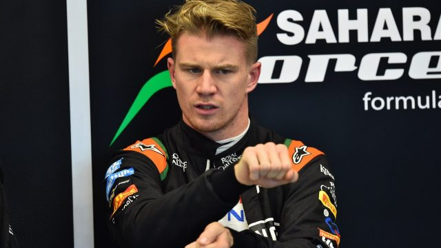Nico Hulkenberg (GER) Force India F1 at Formula One World Championship, Rd16, United States  Grand Prix, Qualifying, Austin, Texas, USA, Saturday 24 October 2015. &copy&#x3b; Sutton Motorsport Images