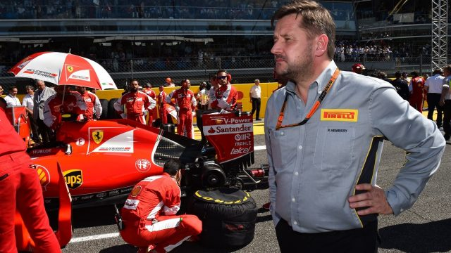 Paul Hembery (GBR) Pirelli Motorsport Director on the grid at Formula One World Championship, Rd12, Italian Grand Prix, Race, Monza, Italy, Sunday 6  September 2015. &copy&#x3b; Sutton Motorsport Images