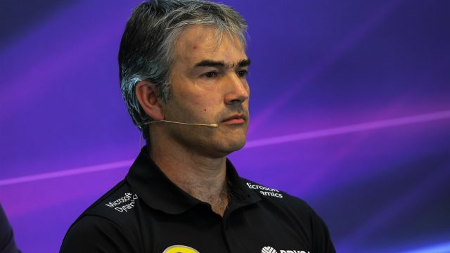 Nick Chester (GBR) Lotus Technical Director in the Press Conference at Formula One World Championship, Rd11, Belgian Grand Prix, Practice, Spa Francorchamps, Belgium, Friday 21 August 2015. &copy&#x3b; Sutton Motorsport Images
