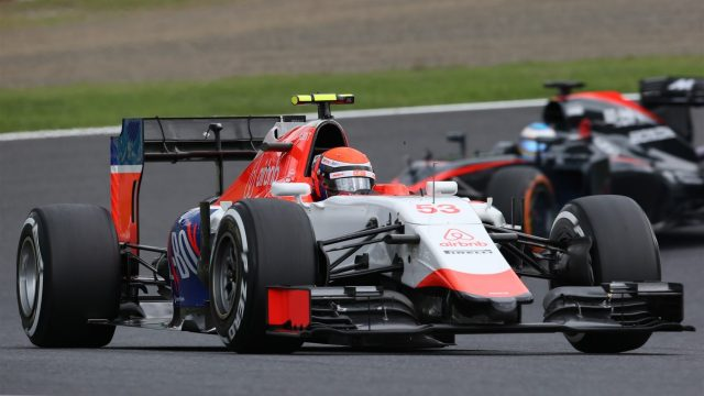Alexander Rossi (USA) Marussia at Formula One World Championship, Rd14, Japanese Grand Prix, Qualifying, Suzuka, Japan, Saturday 26 September 2015. &copy&#x3b; Sutton Motorsport Images