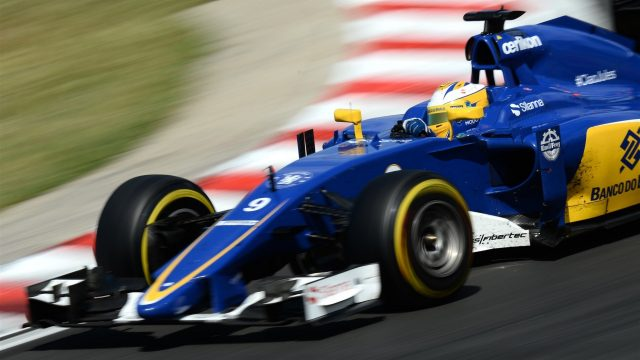 Marcus Ericsson (SWE) Sauber C34 at Formula One World Championship, Rd10, Hungarian Grand Prix, Race, Hungaroring, Hungary, Sunday 26 July 2015. &copy&#x3b; Sutton Motorsport Images