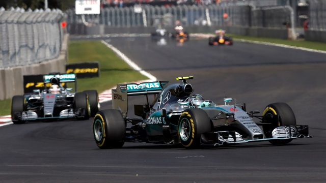 Nico Rosberg (GER) Mercedes AMG F1 W06 at Formula One World Championship, Rd17, Mexican Grand Prix, Race, Circuit Hermanos Rodriguez, Mexico City, Mexico, Sunday 1  November 2015. &copy&#x3b; Sutton Motorsport Images