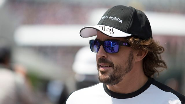 Fernando Alonso (ESP) McLaren at Formula One World Championship, Rd17, Mexican Grand Prix, Race, Circuit Hermanos Rodriguez, Mexico City, Mexico, Sunday 1  November 2015. &copy&#x3b; Sutton Motorsport Images