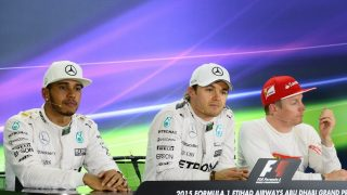FIA post-qualifying press conference - Abu Dhabi