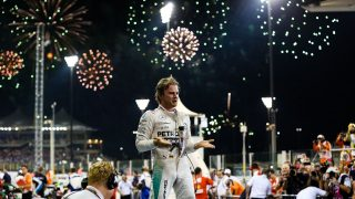 Rosberg makes it a hat-trick with victory at Yas Marina