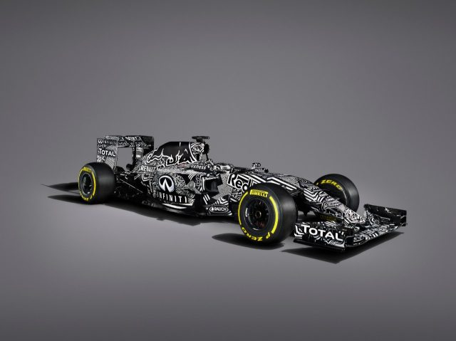Red Bull Racing RB11 Launch Studio Images, 1 February 2015.