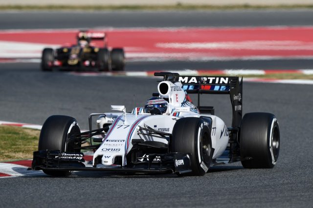 Valtteri Bottas (FIN) Williams FW37 at Formula One Testing, Day Two, Barcelona, Spain, 27 February 2015.