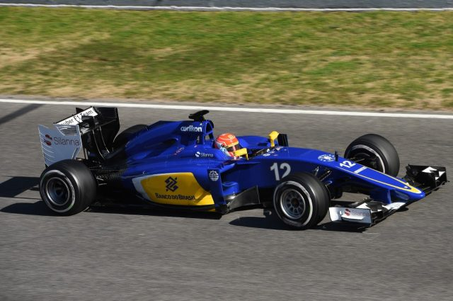 Felipe Nasr, Sauber, Formula One Testing, Day Two, Barcelona, Spain, 27 February 2015.