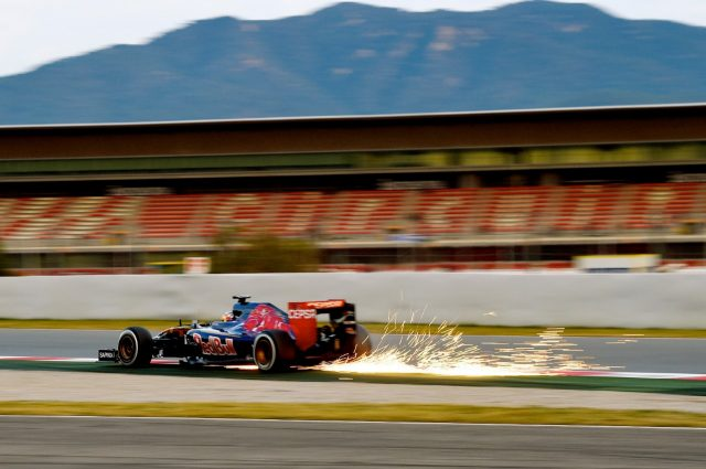 Max Verstappen, Toro Rosso, Formula One Testing, Day Two, Barcelona, Spain, 27 February 2015.
