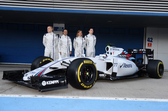Williams present the new FW37 in Jerez