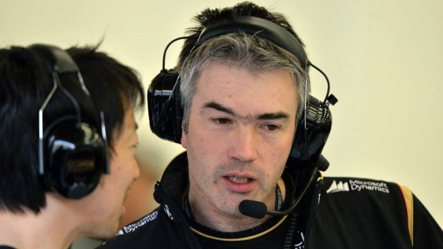 Nick Chester (GBR) Lotus Technical Director.