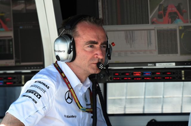 Paddy Lowe, Mercedes executive director (technical)