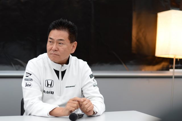 Yasuhisa Arai (JPN) Head of Honda Motorsport in a Press Conference at Formula One Testing, Day Three, Barcelona, Spain, 28 February 2015. &copy&#x3b; Sutton Motorsport Images