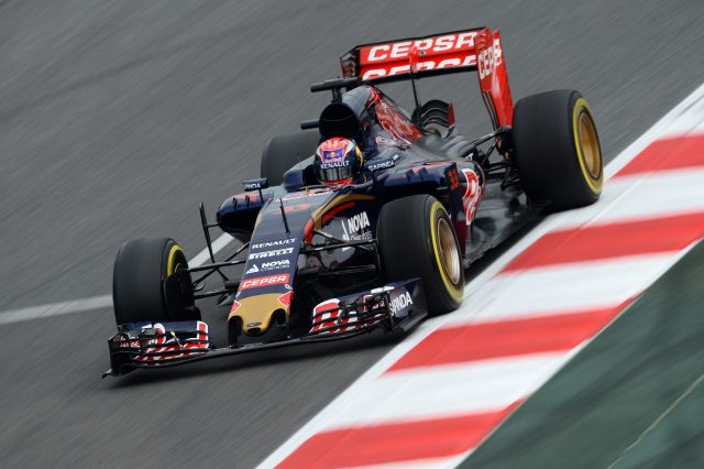 Max Verstappen (NDL) Scuderia Toro Rosso STR10 at Formula One Testing, Day Four, Barcelona, Spain, 1 March 2015.