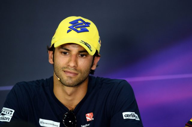 Felipe Nasr (BRA) Sauber in the Press Conference at Formula One World Championship, Rd2, Malaysian Grand Prix, Preparations, Sepang, Malaysia, Thursday 26 March 2015. &copy&#x3b; Sutton Motorsport Images