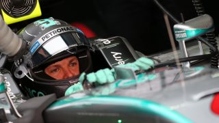 FP1 - Rosberg fastest as Hamilton hits trouble