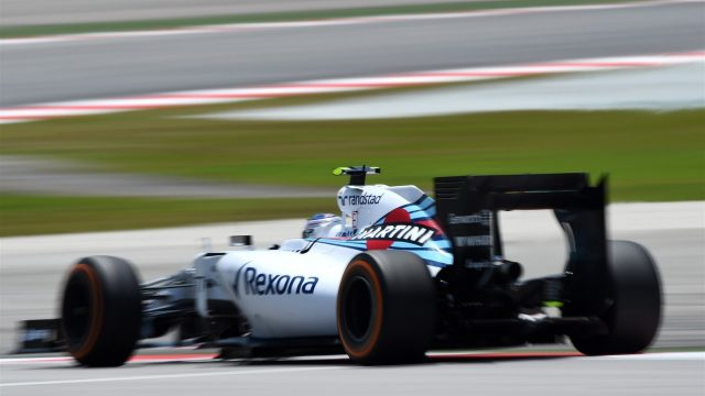 Valtteri Bottas (FIN) Williams FW37 at Formula One World Championship, Rd2, Malaysian Grand Prix, Practice, Sepang, Malaysia, Friday 27  March 2015. &copy&#x3b; Sutton Motorsport Images