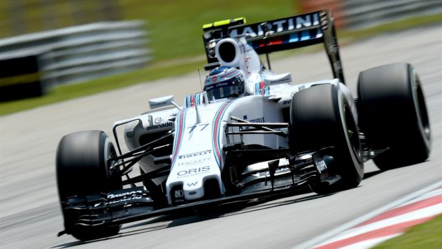 Valtteri Bottas (FIN) Williams FW37 at Formula One World Championship, Rd2, Malaysian Grand Prix, Qualifying, Sepang, Malaysia, Saturday 28  March 2015. &copy&#x3b; Sutton Motorsport Images