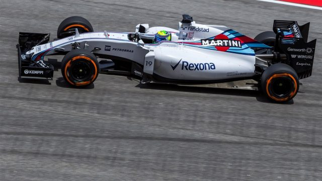 Felipe Massa (BRA) Williams FW37 at Formula One World Championship, Rd2, Malaysian Grand Prix, free practice 3, Sepang, Malaysia, Saturday 28  March 2015. &copy&#x3b; Sutton Motorsport Images