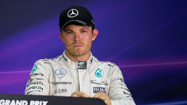 Nico Rosberg (GER) Mercedes AMG F1 in the post race Press Conference at Formula One World Championship, Rd2, Malaysian Grand Prix, Race, Sepang, Malaysia, Sunday 29 March 2015. &copy&#x3b; Sutton Motorsport Images