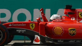 Vettel stuns Mercedes with Ferrari win at Sepang
