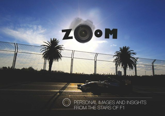 The cover of Zoom: Personal Images and Insights from the Stars of F1. Copyright: Zoom