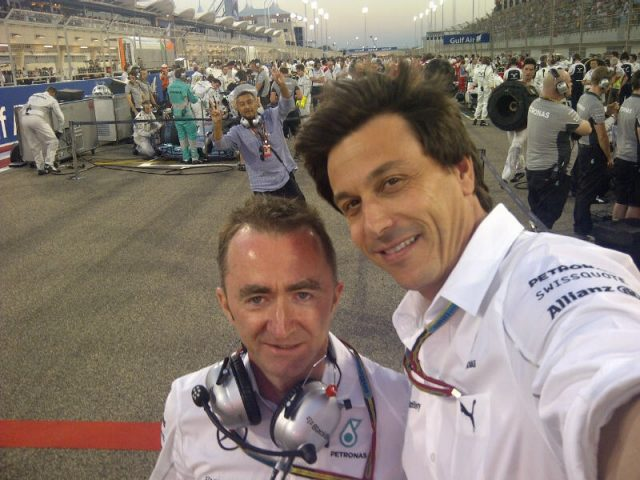 Mercedes' Toto Wolff took this picture for the Zoom charity auction. Copyright: Zoom