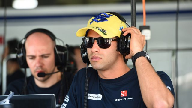 Felipe Nasr (BRA) Sauber at Formula One World Championship, Rd2, Malaysian Grand Prix, Practice, Sepang, Malaysia, Friday 27  March 2015. &copy&#x3b; Sutton Motorsport Images