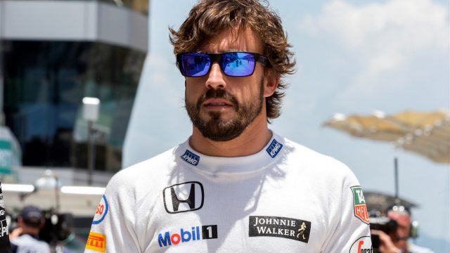 Fernando Alonso (ESP) McLaren at Formula One World Championship, Rd2, Malaysian Grand Prix, Practice, Sepang, Malaysia, Friday 27  March 2015. &copy&#x3b; Sutton Motorsport Images