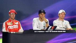 FIA post-qualifying press conference - Bahrain
