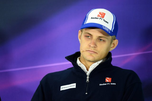 Marcus Ericsson (SWE) Sauber in the Press Conference at Formula One World Championship, Rd3, Chinese Grand Prix, Preparations, Shanghai, China, Thursday 9 April 2015. &copy&#x3b; Sutton Motorsport Images