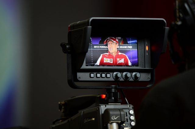 Sebastian Vettel (GER) Ferrari in the Press Conference at Formula One World Championship, Rd3, Chinese Grand Prix, Preparations, Shanghai, China, Thursday 9 April 2015. &copy&#x3b; Sutton Motorsport Images