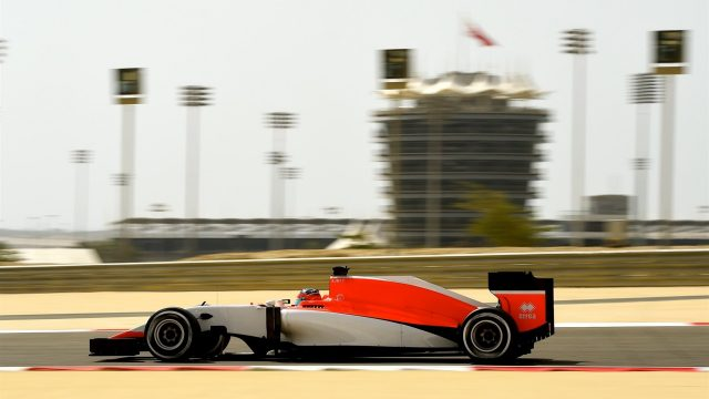 Will Stevens (GBR) Marussia at Formula One World Championship, Rd4, Bahrain Grand Prix Practice, Bahrain International Circuit, Sakhir, Bahrain, Friday 17 April 2015. &copy&#x3b; Sutton Motorsport Images