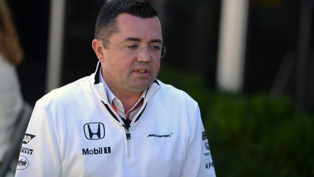Eric Boullier (FRA) McLaren Racing Director at Formula One World Championship, Rd1, Australian Grand Prix, Race, Albert Park, Melbourne, Australia, Sunday 15 March 2015. &copy&#x3b; Sutton Motorsport Images