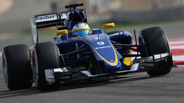 Marcus Ericsson (SWE) Sauber C34 at Formula One World Championship, Rd4, Bahrain Grand Prix Qualifying, Bahrain International Circuit, Sakhir, Bahrain, Saturday 18  April 2015. &copy&#x3b; Sutton Motorsport Images