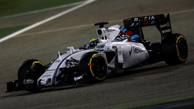 Felipe Massa (BRA) Williams FW37 at Formula One World Championship, Rd4, Bahrain Grand Prix Qualifying, Bahrain International Circuit, Sakhir, Bahrain, Saturday 18  April 2015. &copy&#x3b; Sutton Motorsport Images