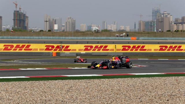 Daniil Kvyat (RUS) Red Bull Racing RB11 at Formula One World Championship, Rd3, Chinese Grand Prix, Qualifying, Shanghai, China, Saturday 11 April 2015. &copy&#x3b; Sutton Motorsport Images