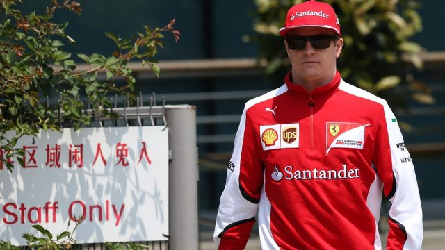 Kimi Raikkonen (FIN) Ferrari at Formula One World Championship, Rd3, Chinese Grand Prix, Race, Shanghai, China, Sunday 12 April 2015. &copy&#x3b; Sutton Motorsport Images