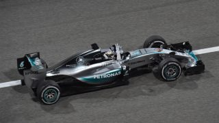Second Bahrain win for Hamilton as Raikkonen splits Mercedes