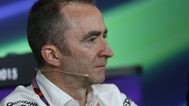 Paddy Lowe (GBR) Mercedes AMG F1 Executive Director (Technical) in the Press Conference at Formula One World Championship, Rd5, Spanish Grand Prix Practice, Barcelona, Spain, Friday 8 May 2015. &copy&#x3b; Sutton Motorsport Images