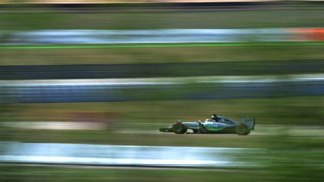 Lewis Hamilton (GBR) Mercedes AMG F1 W06 at Formula One World Championship, Rd5, Spanish Grand Prix Practice, Barcelona, Spain, Friday 8 May 2015. &copy&#x3b; Sutton Motorsport Images