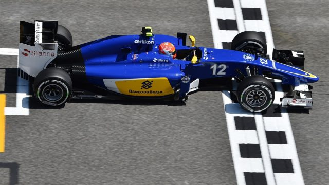 Felipe Nasr (BRA) Sauber C34 at Formula One World Championship, Rd5, Spanish Grand Prix Practice, Barcelona, Spain, Friday 8 May 2015. &copy&#x3b; Sutton Motorsport Images