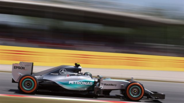 Nico Rosberg (GER) Mercedes AMG F1 W06 at Formula One World Championship, Rd5, Spanish Grand Prix Qualifying, Barcelona, Spain, Saturday 9 May 2015. &copy&#x3b; Sutton Motorsport Images