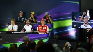 FIA press conference schedule - Spain