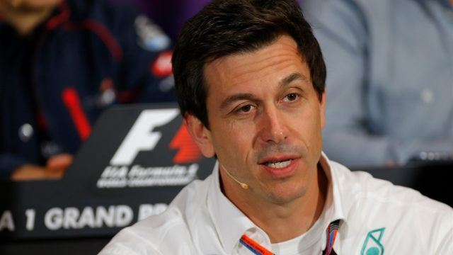 Toto Wolff (AUT) Mercedes AMG F1 Director of Motorsport in the Press Conference at Formula One World Championship, Rd6, Monaco Grand Prix Practice, Monte-Carlo, Monaco, Thursday 21  May 2015. &copy&#x3b; Sutton Motorsport Images