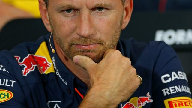 Christian Horner (GBR) Red Bull Racing Team Principal in the Press Conference at Formula One World Championship, Rd6, Monaco Grand Prix Practice, Monte-Carlo, Monaco, Thursday 21  May 2015. &copy&#x3b; Sutton Motorsport Images