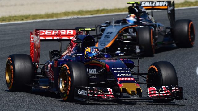Carlos Sainz jr (ESP) Scuderia Toro Rosso STR10 at Formula One World Championship, Rd5, Spanish Grand Prix Qualifying, Barcelona, Spain, Saturday 9 May 2015. &copy&#x3b; Sutton Motorsport Images