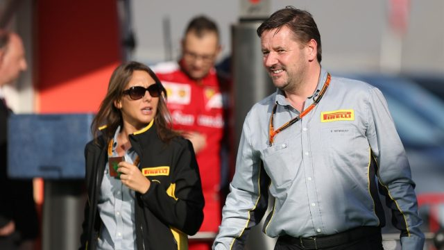 Paul Hembery (GBR) Pirelli Motorsport Director at Formula One World Championship, Rd5, Spanish Grand Prix Practice, Barcelona, Spain, Friday 8 May 2015. &copy&#x3b; Sutton Motorsport Images