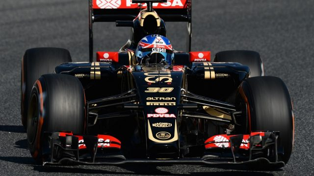 Jolyon Palmer (GBR) Lotus Test and Reserve Driver at Formula One World Championship, Rd5, Spanish Grand Prix Practice, Barcelona, Spain, Friday 8 May 2015. &copy&#x3b; Sutton Motorsport Images